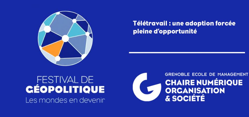 Retour sur la conférence : Télétravail : une adoption forcée pleine d'opportunité