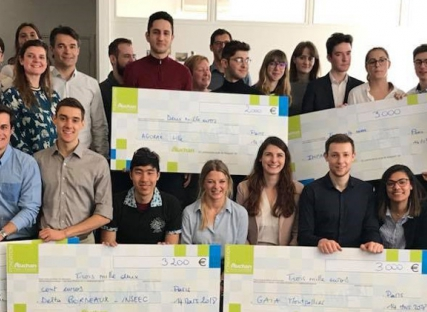 Le Panier Terroir lauréat du Prix Spécial Etudiant de la Fondation Auchan